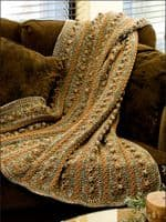Afghans Variegations Crochet Book AA 879518 DISCONTINUED